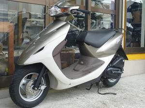 レンタルバイク例 スマートディオ ゴールド