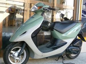 レンタルバイク例 スマートディオ グリーン