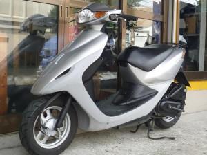 レンタルバイク例 スマートディオ シルバー