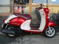 ヤマハ ビーノDX(2013式中古車)レッド色!最高速度60km以上!走行距離24470km速いです!