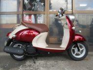 ヤマハ ビーノFI(2007年式中古車)レッド色!最高速度60km!走行距離10836kmオススメです!