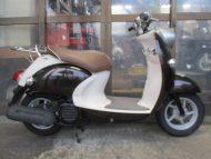 売約済み ヤマハ ビーノ(2007年式中古車)ブラウン色!最高速度60km!走行距離3492kmオススメです!