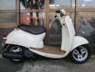 ホンダ クレアスクーピー(2004年式中古車)クリーム色!最高速度60km以上!走行距離10800km可愛いです☆