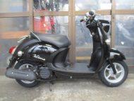 売約済み ヤマハ ビーノ(2007年式中古車)ブラック色!最高速度58km!走行距離15256kmとても綺麗です!オススメです!