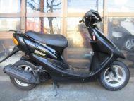 売約済み ホンダ ライブDIO(2001式中古車)ブラック色!最高速度60km!走行距離4869km乗り易いです!