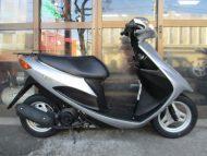 売約済み スズキ アドレスV50(中古2008年式)シルバー色 最高速度60km以上!!燃費良く!乗り易い