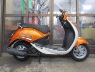 売約済み SYM UMI100(不明年式中古車)オレンジ色!最高速度90km!走行距離1256km速いです!乗り易い!
