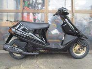 スズキ アドレスV100リミテッドエディション(2003年式中古車)ブラック色!最高速度85km!走行距離2400km速いです!乗り易い!