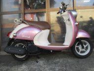 ヤマハ ビーノ-2(中古・2005年式)ピンク色 最高速度60km!走行18006km燃費良いです!
