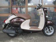ヤマハ ビーノ-FI(2008式中古車)ブラウン色!最高速度60km以上!走行距離19466km速いです!