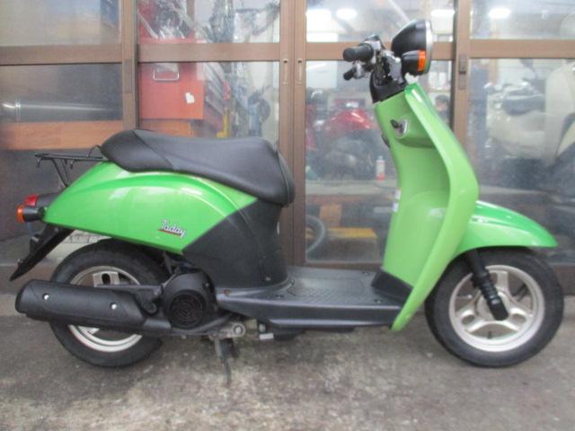 ホンダ トゥデイ(2004年式中古車)グリーン色!最高速度56km!走行距離8905kmオススメです!