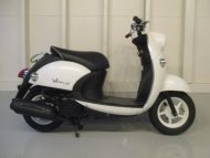 売約済み ヤマハ ビーノ FI(2008式中古車)ホワイト色!最高速度60km!走行距離12509km速いです!