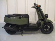 売約済み ヤマハ VOX(2010式中古車)グリーン色!最高速度60km以上!走行距離22777km速いです!
